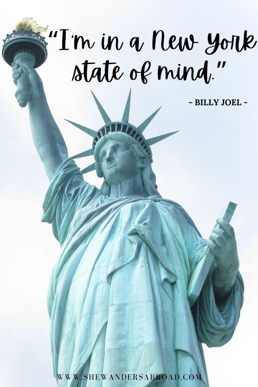 Short New York quotes for Instagram
