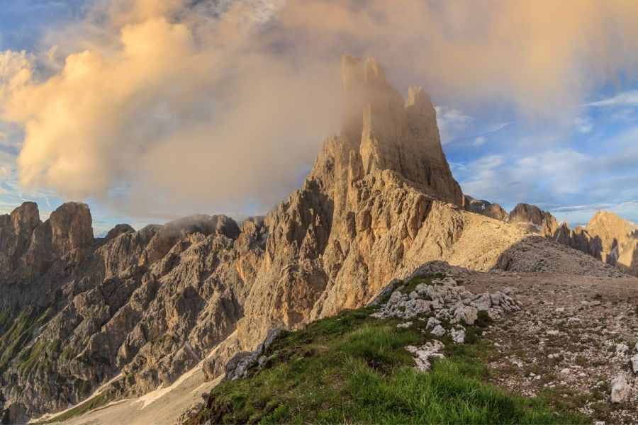 Vajolet Towers in the Dolomites, Italy