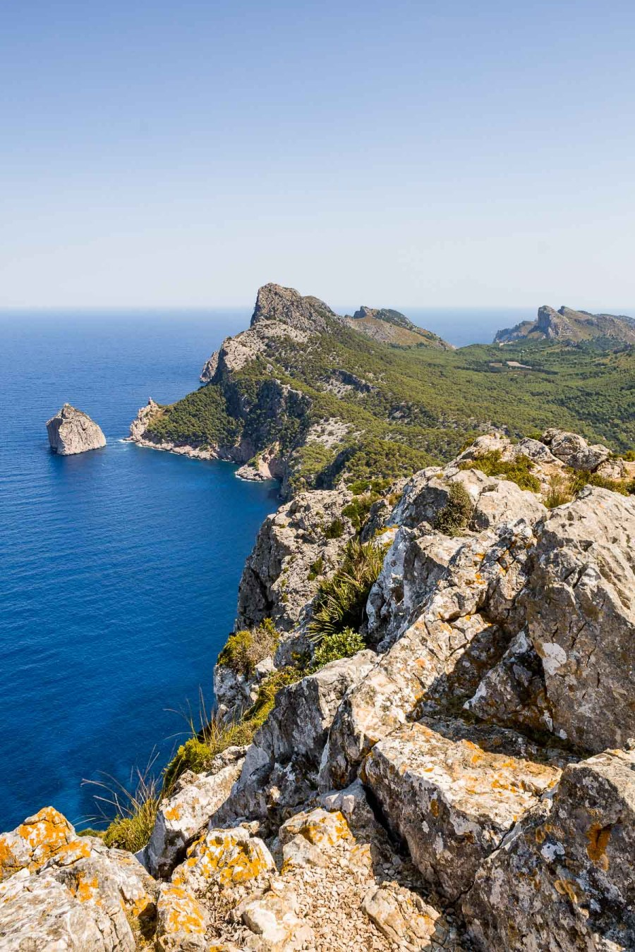 View from Albercutx watchtower in Mallorca