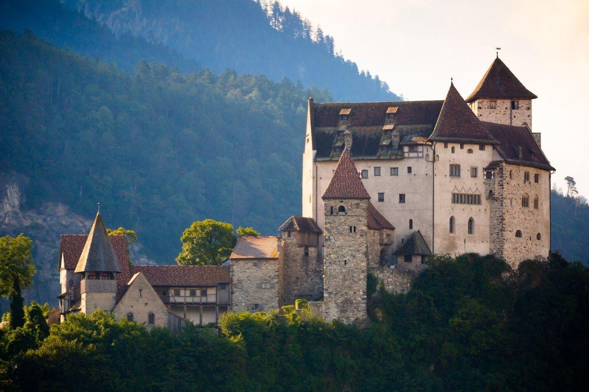 Gutenberg Castle in Balzers, Liechtenstein