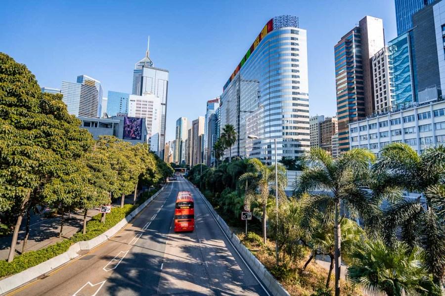 Roads in Hong Kong