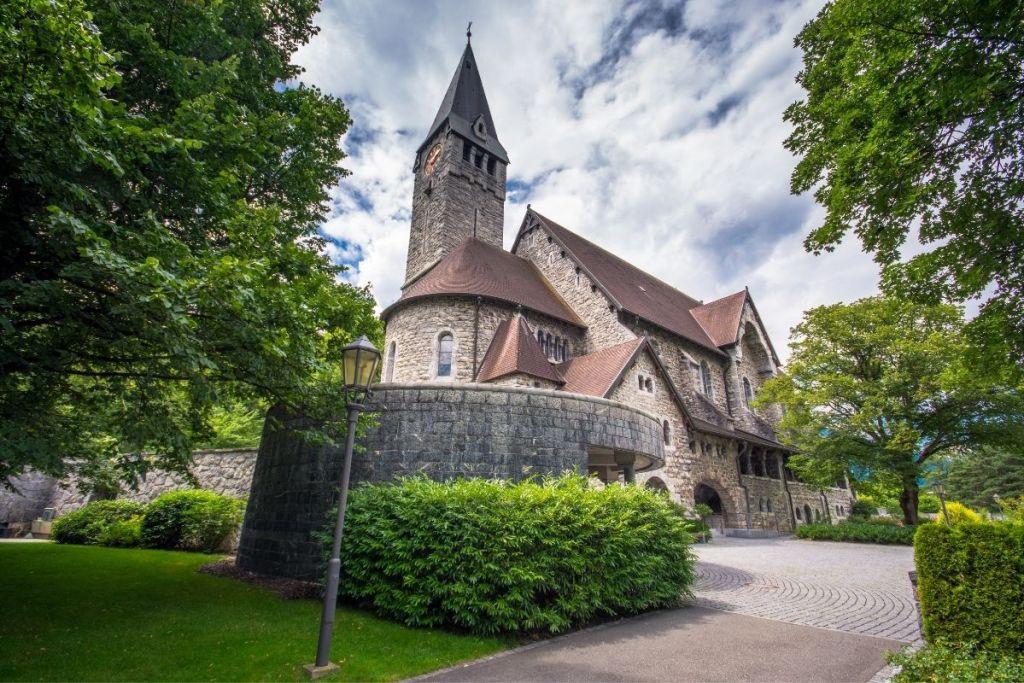 St. Nicholas Church in Balzers, Liechtenstein