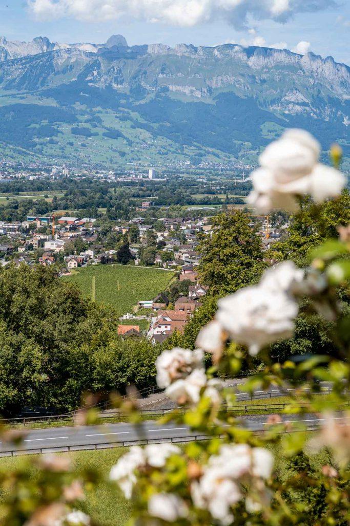 View from Vaduz Castle, Liechtenstein