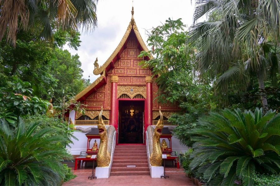 Wat Phra Kaew in Chiang Rai