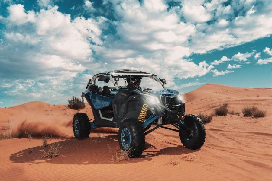 Big Red Adventure Tours Dune Buggy Dubai
