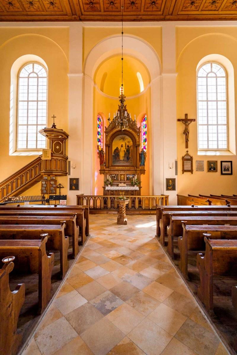 Interior of Evangelisches Pfarramt in Hallstatt