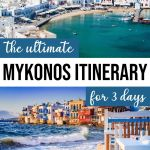 The Perfect 3 Days in Mykonos Itinerary for First Timers