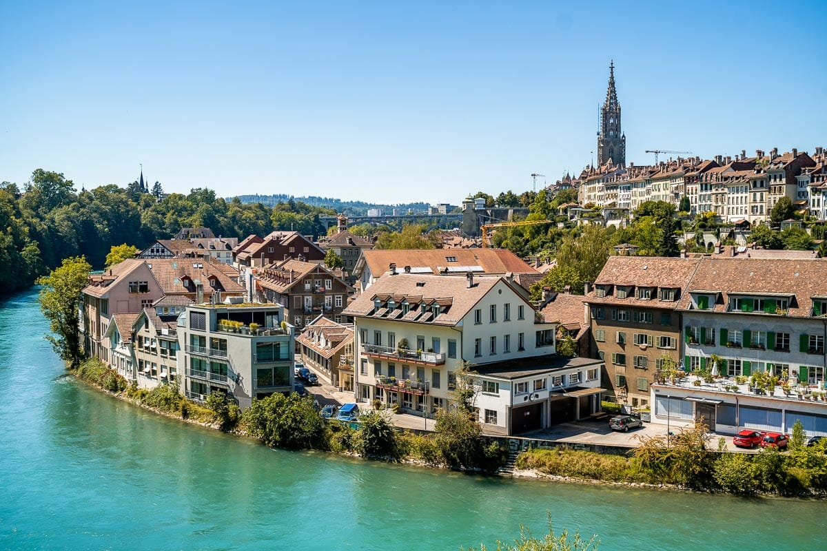 Panoramic view of Bern, Switzerland