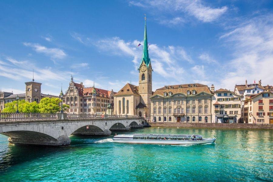 River Limmat Cruise in Zurich