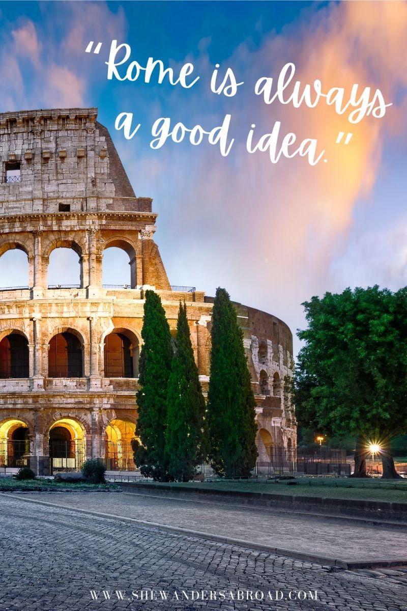 Best Rome Captions for Instagram