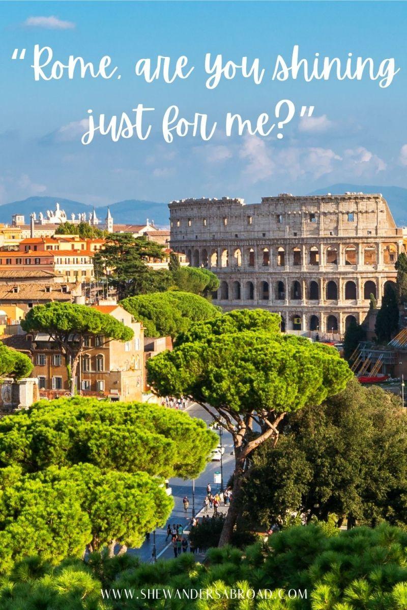 Short Rome Captions for Instagram