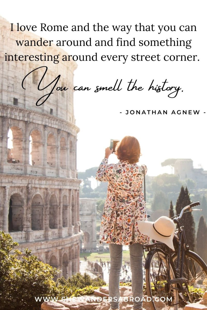 Quotes About the Uniqueness of Rome