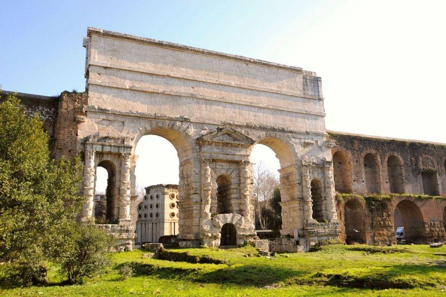 Porta Maggiore in Rome, Italy