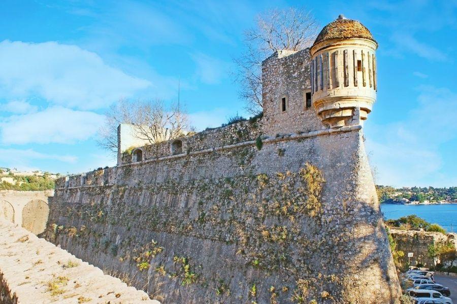 St. Elme Citadel in Villefranche-sur-Mer, France