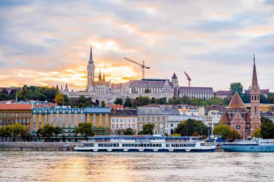 Danube River Walk in Budapest
