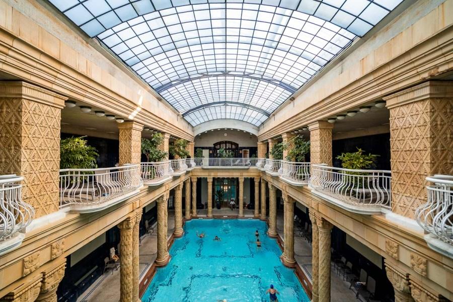 Gellert Thermal Bath in Budapest, Hungary