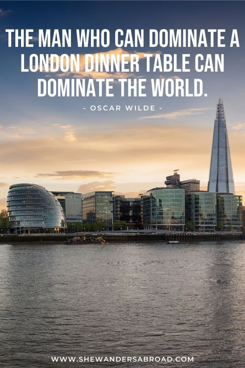 Best London Quotes for Instagram