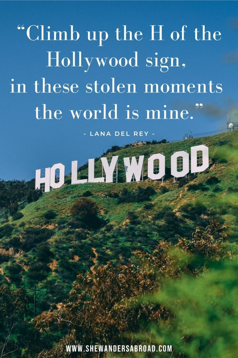 Hollywood Instagram Captions and Quotes