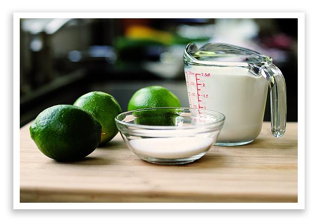 Lime Sherbet Recipe