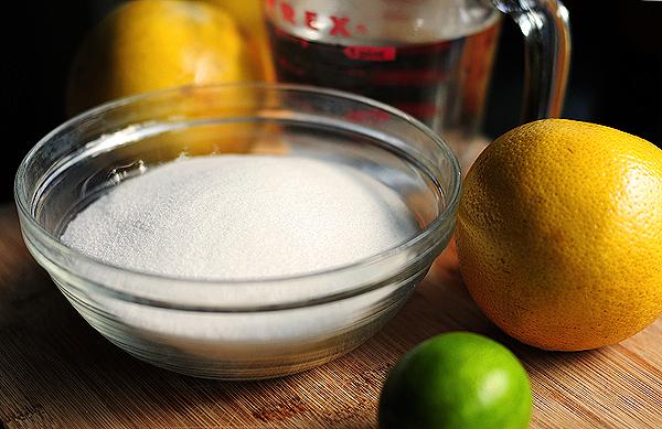 How to make Grapefruit and Lime Sorbet