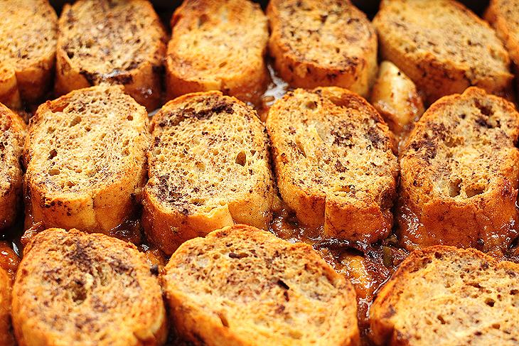Apple Bourbon French Toast Casserole