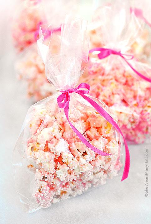 Easy Valentines Popcorn