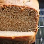 Peanut Butter Bread Recipe | shewearsmanyhats.com
