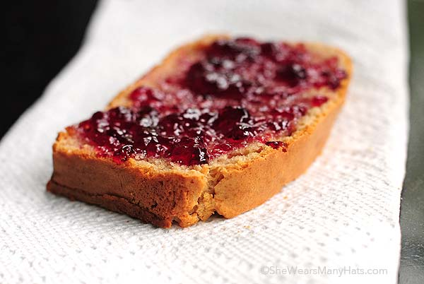 peanut butter bread with jelly