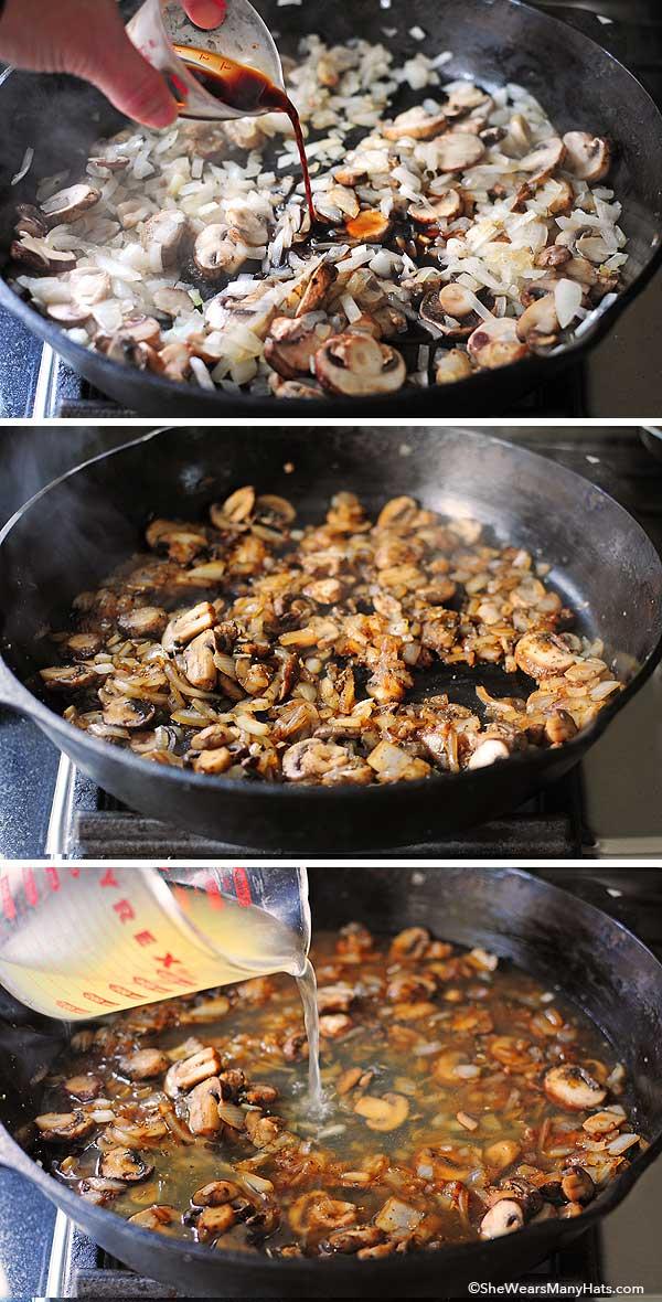 Sausage and Mushroom Stuffing Recipe   shewearsmanyhats.com