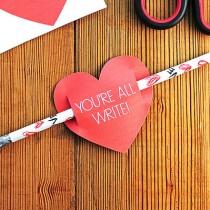 Kids Valentines Day Card Free Printable