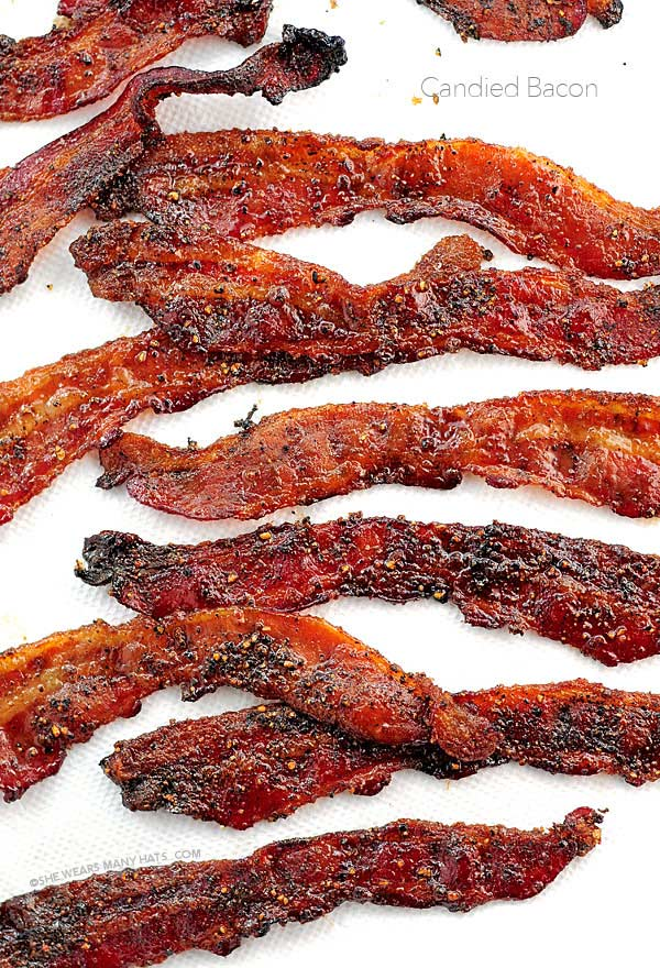 easy candied bacon