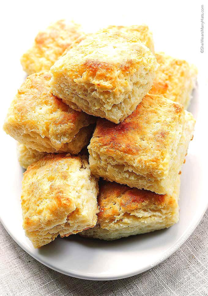 Buttermilk Biscuits Recipe shewearsmanyhats.com