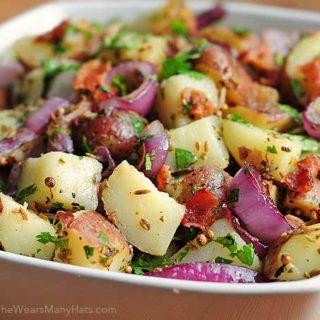 Texas Style New Potato Salad Recipe