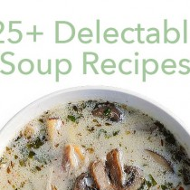 In the list of soup recipes below you'll find a variety with recipes that will please even those who don't think they like soup.