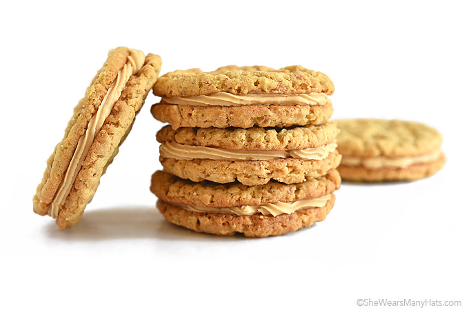 Almond Butter Cookies with Almond Butter Cream Filling Recipe