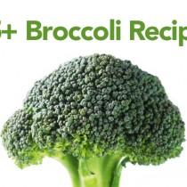 Over 25 Broccoli Recipes shewearsmanyhats.com