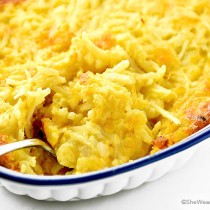 Easy Cheesy Hashbrown Casserole Recipe