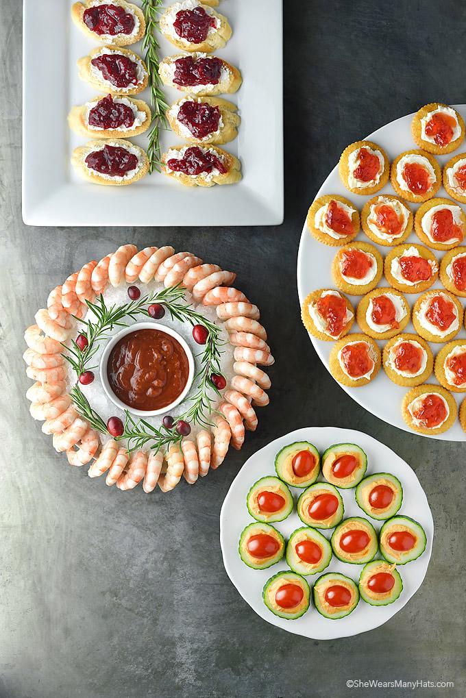 Easy Holiday Appetizers | shewearsmanyhats.com