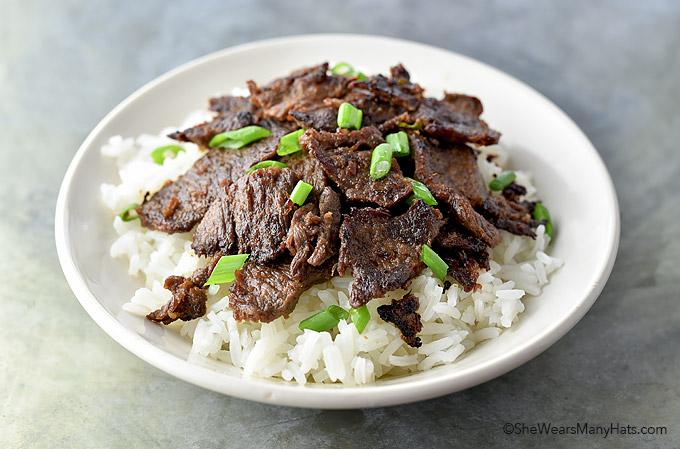 Easy Bulgogi Recipe | shewearsmanyhats.com