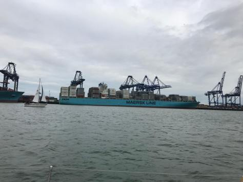 Harwich cargo port