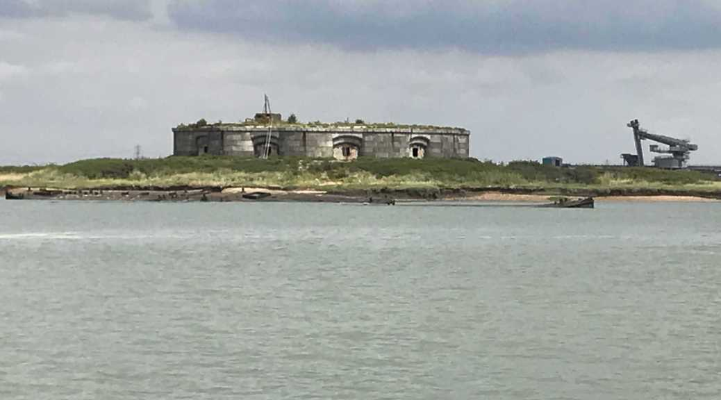 Fort on the river medway