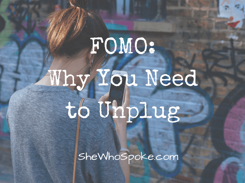 unplug | fomo | social media | be present | communication