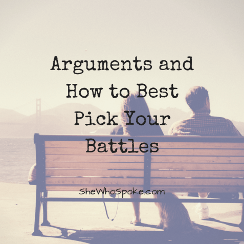 arguments | relationships | compromise | pick your battles | dating | love