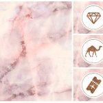 101 Marble Pink Instagram Highlight Covers Bonus Templates