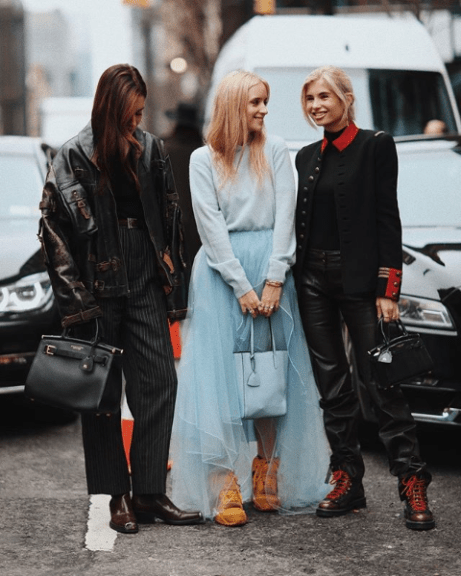 Influencer power houses at NYFW