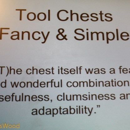 Tool Chest presentation.