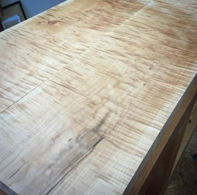 Curly Maple 8/4 Counter Top