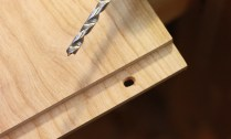 I also elongated the end holes to allow movement.