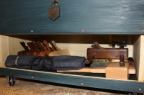Bottom compartment with ample room.