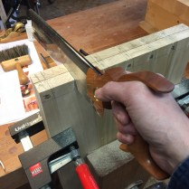 My amazing Badaxe stiletto dovetail saw.